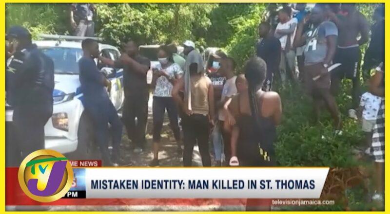 Mistaken Identity: Man Killed in St. Thomas   TVJ News - Oct 20 2021 8