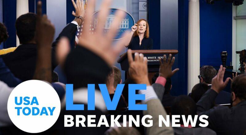 White House Press Secretary Jen Psaki gives press briefing. | USA TODAY 1
