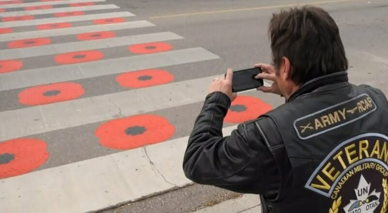 Why the Royal Canadian Legion says this crosswalk is disrespectful 5