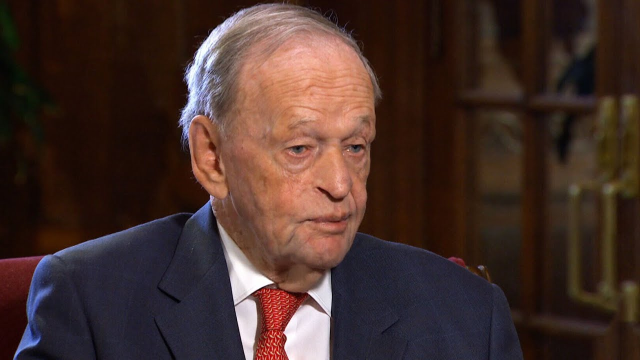 One-on-one interview with former prime minister Jean Chretien 5
