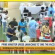 PM Urges Jamaicans to Take the Vaccine | TVJ News - Oct 24 2021 17