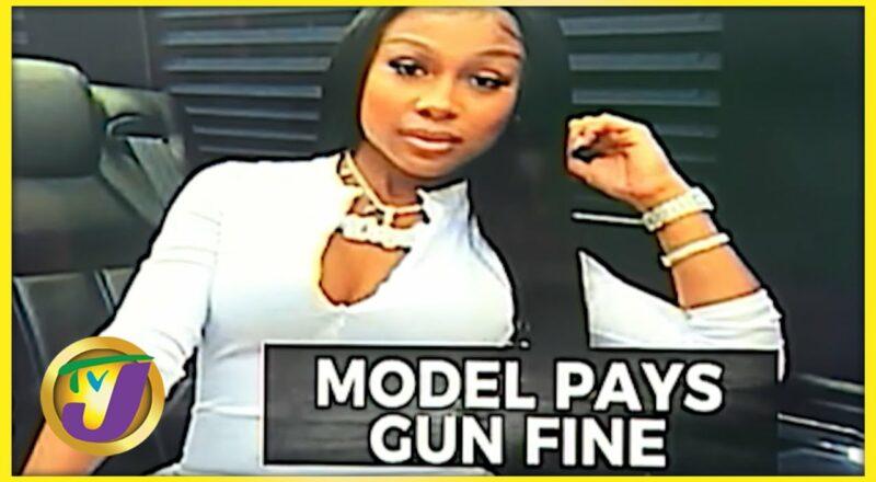 Jayda Cheaves Pays $800,000 Gun Fine in Jamaica   TVJ News - Sept 29 2021 1
