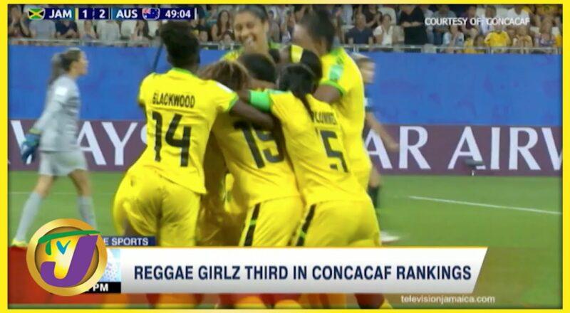 Reggae Girlz 3rd in Concacaf Rankings - Sept 30 2021 1