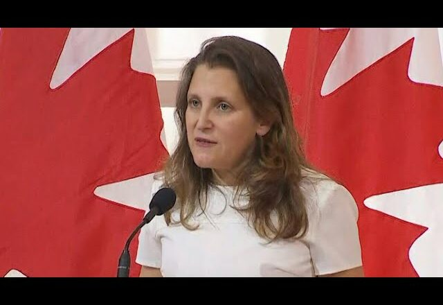Freeland asked if Canada still has 'special relationship' with U.S. after border shutdown | COVID-19 2