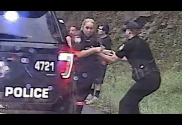 Virginia police officer saves colleague from out-of-control vehicle 1