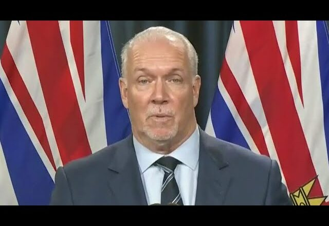 B.C. Premier Horgan on the defensive over 4th wave when asked what Ont. did differently 1